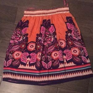 Cute brightly colored skirt